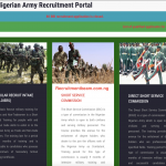 Nigerian Army Shortlisted Candidates 2020/2021 | Check PDF List